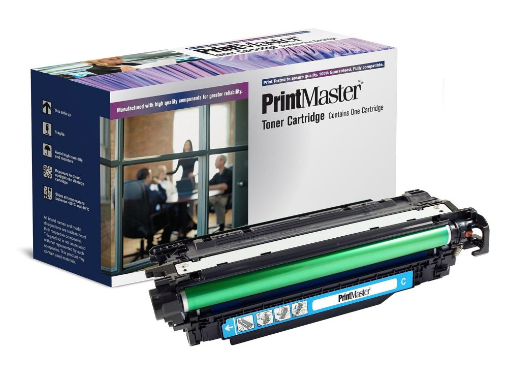 PrintMaster Compatible - 648A Toner 11000 pages Cyan- CE261A